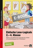 Einfache Lese-Logicals - 2.-4. Klasse (eBook, PDF)