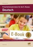Freiarbeitsmaterialien für die 5. Klasse: Deutsch (eBook, PDF)