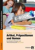 Artikel, Präpositionen & Nomen - Mein Körper 1/2 (eBook, PDF)