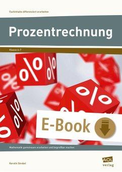 Prozentrechnung (eBook, PDF) - Strobel, Kerstin