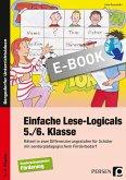 Einfache Lese-Logicals - 5./6. Klasse (eBook, PDF)