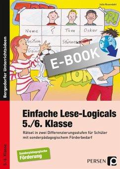 Einfache Lese-Logicals - 5./6. Klasse (eBook, PDF) - Rosendahl, Julia
