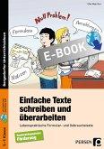 Einfache Texte schreiben und überarbeiten (eBook, PDF)
