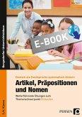 Artikel, Präpositionen und Nomen - Einkaufen 3/4 (eBook, PDF)