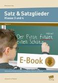 Satz & Satzglieder - Klasse 3 und 4 (eBook, PDF)