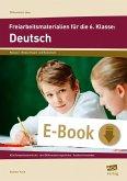 Freiarbeitsmaterialien für die 6. Klasse: Deutsch (eBook, PDF)