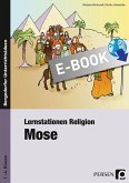 Lernstationen Religion: Mose (eBook, PDF)