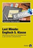 Last Minute: Englisch 5. Klasse (eBook, PDF)