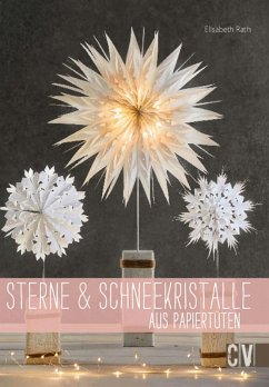 Sterne & Schneekristalle aus Papiertuten