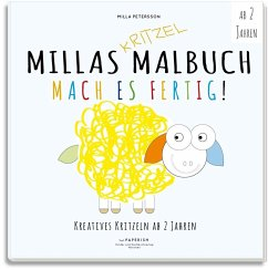 MILLAS KRITZEL MALBUCH - Mach es Fertig! - Petersson, Milla