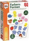 Jumbo 19580 - Ich lerne Formen & Farben, 6 Lernspiele