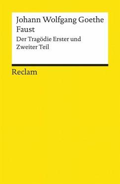Faust. Der Tragödie Erster und Zweiter Teil (eBook, ePUB) - Goethe, Johann Wolfgang