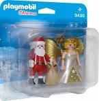 PLAYMOBIL® 9498 Duo Pack Weihnachtsmann und Engel