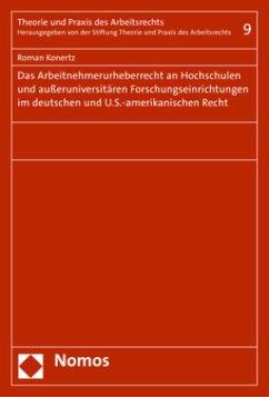 Das Arbeitnehmerurheberrecht an Hochschulen und...