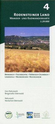 Odenwald Freizeitkarte Rodensteiner Land