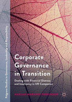 Corporate Governance in Transition - Parkinson, Marjan Marandi