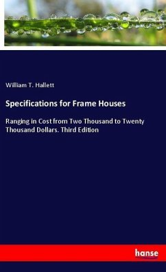 Specifications for Frame Houses