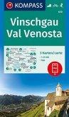 KOMPASS Wanderkarte Vinschgau, Val Venosta
