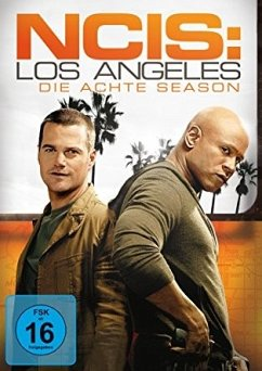Navy CIS Los Angeles - Season 8 DVD-Box - Chris O'Donnell,Daniela Ruah,Barrett Foa