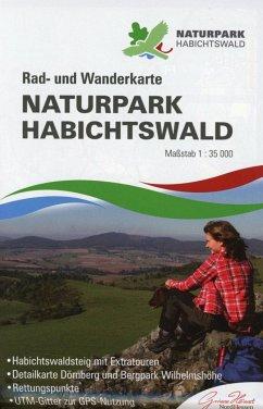 KKV Rad- und Wanderkarte Naturpark Habichtswald