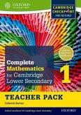 Complete Mathematics for Cambridge Lower Secondary Teacher Pack 1