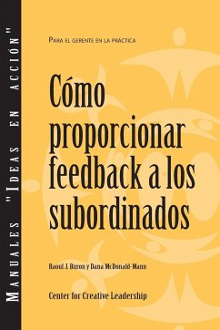 Giving Feedback to Subordinates (Spanish)