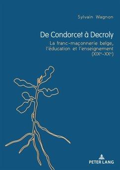 De Condorcet à Decroly