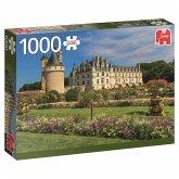 Jumbo 18555 - Schloss an der Loire, Puzzle, 1000 Teile