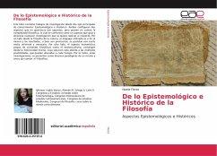 De lo Epistemológico e Histórico de la Filosofía