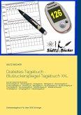 Diabetes-Tagebuch - Blutzuckerspiegel-Tagebuch XXL