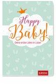 Happy Baby! Deine ersten Jahre in Listen