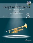 Easy Concert Pieces, Trompete und Klavier, m. Audio-CD