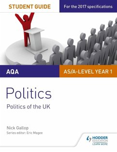 AQA AS/A-level Politics Student Guide 2: Politics of the UK (eBook, ePUB) - Gallop, Nick