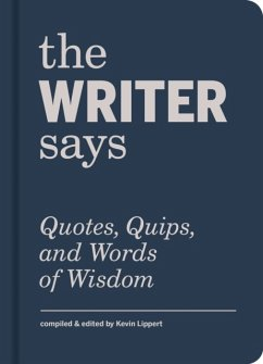 The Writer Says