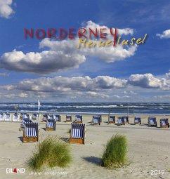 Norderney 2019 - Postkartenkalender