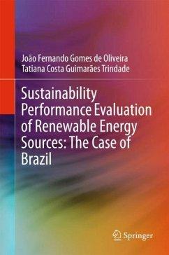 Sustainability Performance Evaluation of Renewa...