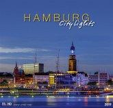 Hamburg City Lights 2019 - Großformatkalender