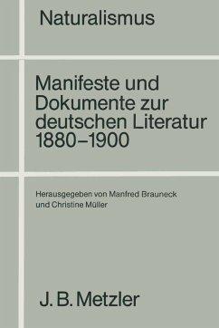 Naturalismus (eBook, PDF)