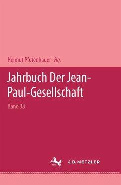 Jahrbuch der Jean Paul Gesellschaft 2003 (eBook, PDF)