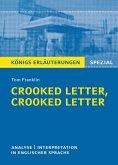 Crooked Letter, Crooked Letter von Tom Franklin. Königs Erläuterungen Spezial. (eBook, ePUB)