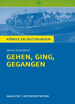 Gehen, ging, gegangen. Königs Erläuterungen. (eBook, ePUB) - Erpenbeck, Jenny; Hasenbach, Sabine