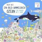 Vicky Bo's Ein-Bild-Wimmelbuch für Kinder - Ozean