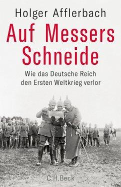 Auf Messers Schneide (eBook, ePUB) - Afflerbach, Holger