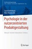 Psychologie in der nutzerzentrierten Produktgestaltung (eBook, PDF)