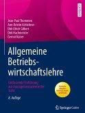 Allgemeine Betriebswirtschaftslehre (eBook, PDF)