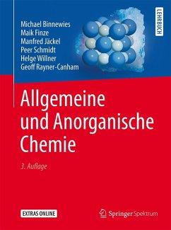 Allgemeine und Anorganische Chemie (eBook, PDF) - Binnewies, Michael; Finze, Maik; Jäckel, Manfred; Schmidt, Peer; Willner, Helge; Rayner-Canham, Geoff