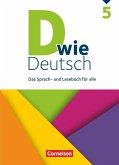 D wie Deutsch - Allgemeine Ausgabe 5. Schuljahr - Schülerbuch