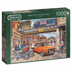 Spirit of the Seventies - 1000 Teile Puzzle
