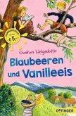 Blaubeeren und Vanilleeis (Mängelexemplar)