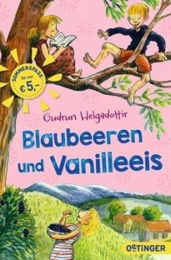 Blaubeeren und Vanilleeis (Mängelexemplar) - Helgadottir, Gudrun